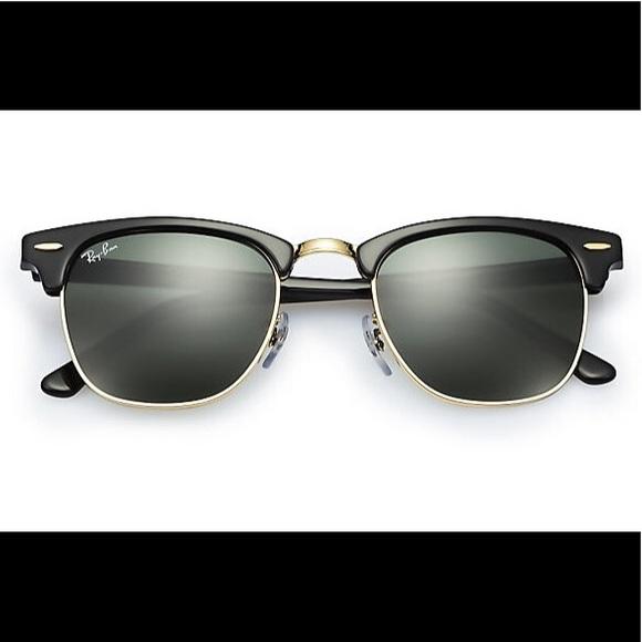 ea80fce1ac NWT Ray Ban ClubMaster RB 3016 W0365 51 Sunglasses